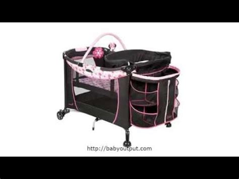 Disney Care Center Play Yard Bassinet Changing Table Youtube Play Yard With Changing Table