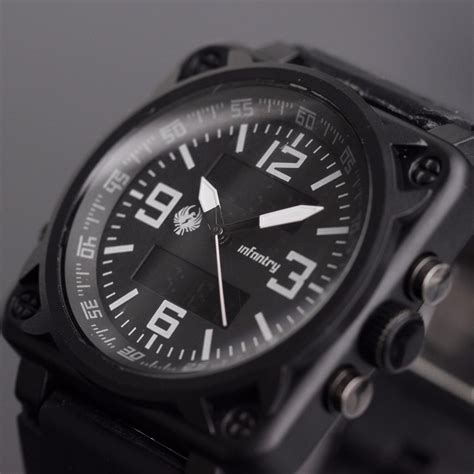 infantry aviator montre aviation square mens