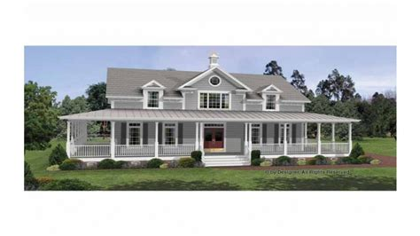 Country House Plans With Porches Colonial House Plans With Wrap Around Porches Country House Plans Small Colonial House Plans