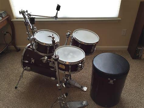 Softcase Hardware Drum Untuk Stand Cymbal Stand Hihat Dan Stand Snar yamaha rick marotta signature hipgig cherry drum set w cases reverb