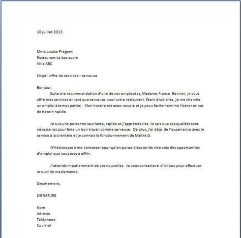 Modele Lettre De Motivation Visa Sã Jour Application Letter Sle Mod 232 Le De Lettre De Motivation Caissi 232 Re