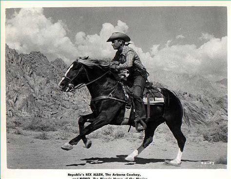 cowboy film horse rex allen