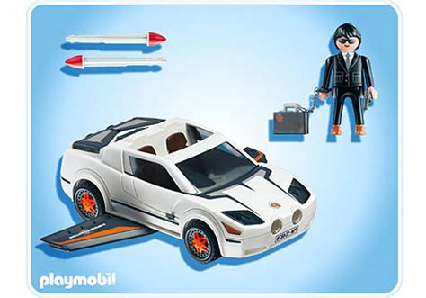Playmobil Agenten Auto by Voiture Des Agents Secrets 4876 A Playmobil 174 France