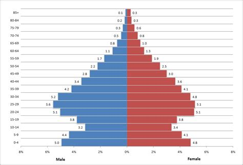 Creating A Population Pyramid In Excel Surfing The Aether Pyramid Chart Excel Template