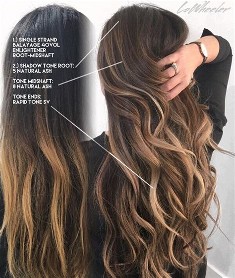 long dark brown ombre hair 53 best beauty and nails images on pinterest hair colors