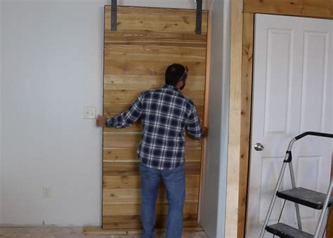 How To Make A Sliding Barn Door Free Plans Diy How To Hang A Barn Door
