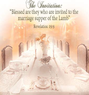 invitation to the wedding feast pentecost 2017 the marriage supper loud cry of the