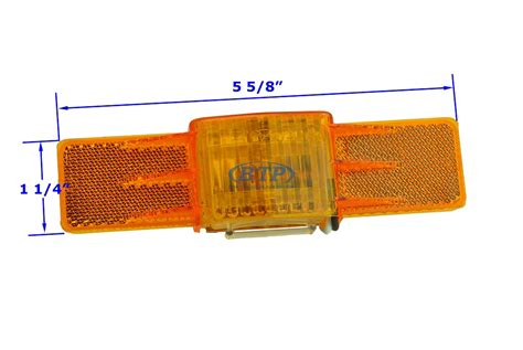 dry launch boat trailer lights sidemarker light amber submersible l203a dry launch