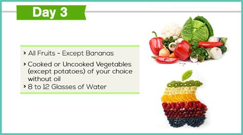 3 fruit a day diet the gm diet plan how to lose weight in just 7 days