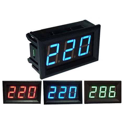 Volmeter Digital Ac 0 500v Original 0 56 Inch Ac70 500v Mini Digital Voltmeter Voltage Panel