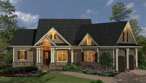 french country home design country home designs half brick wall black roof small