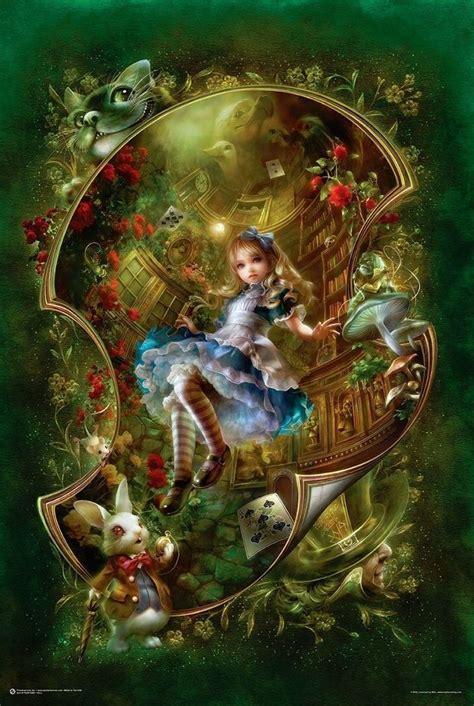 alicia en el pa 237 s de las maravillas fantas 237 a poster 24x36 libro art 10465 ebay