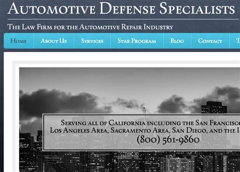 california law firm  bureau  automotive repair issues