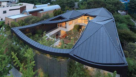 Hanok House Floor Plan cutout roof design modern house designs