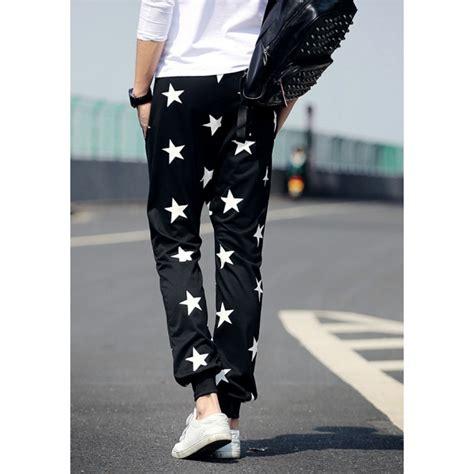 Celana Motif Bintang jual celana jogger motif bintang