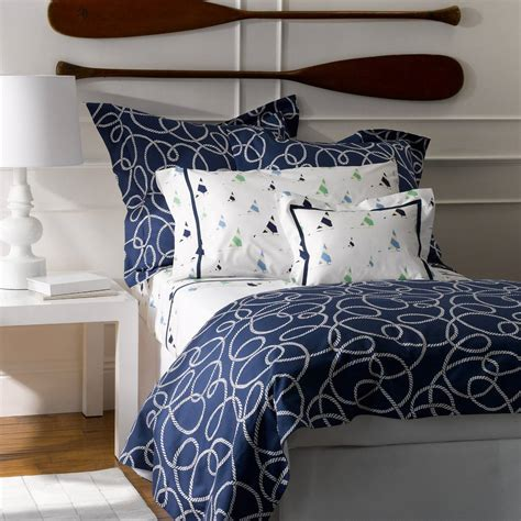 Navy Quilt Bedding Nautical Navy Blue Duvet Covers Bedding Matouk Admiral