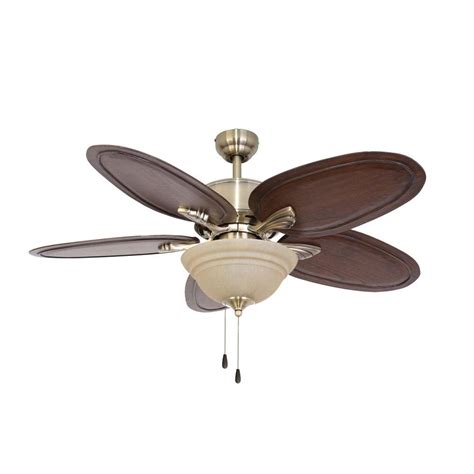 sahara fans johnston 52 in aged brass ceiling fan 10048