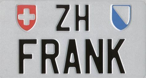 Motorrad Nummernschild Ch by Originale Schweizer Autonummern