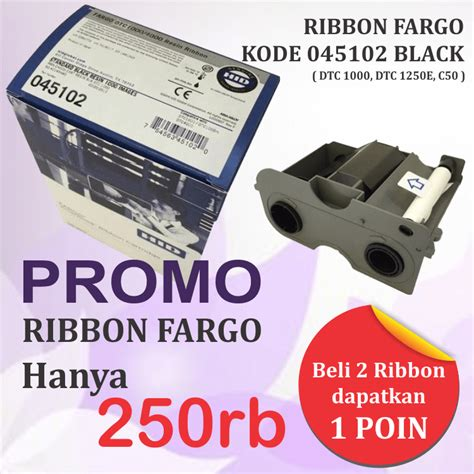 Printer Gelang Tsc Tdp 225w Paling Murah ribbon fargo black 045102