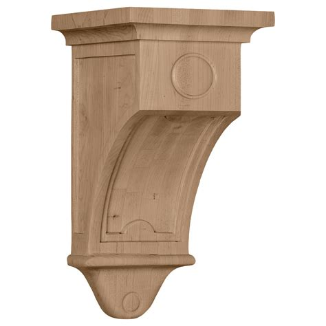 Arts And Crafts Corbels Wood Corbel Cor07x07x14ar Architectural Millwork