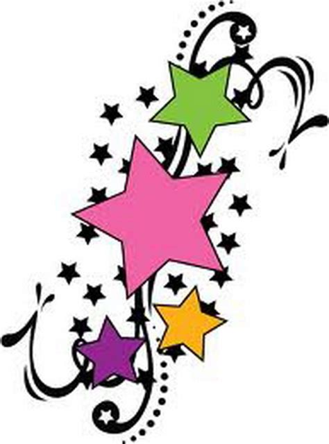 star and flower tattoo designs free download clip art