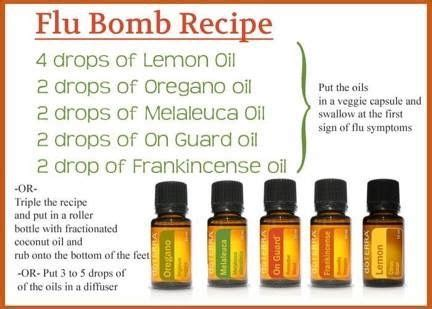 Doterra Detox Bath For Cold by The 25 Best Doterra Flu Bomb For Ideas On