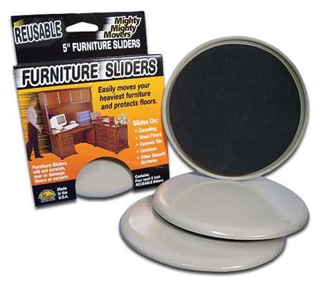 mighty mighty movers reusable furniture sliders