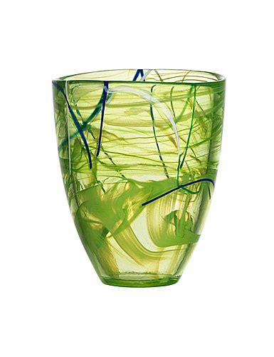 Kosta Boda Contrast Vase by Kosta Boda Contrast Vase Large Lime