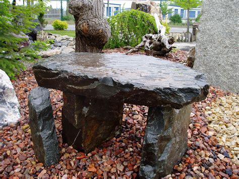 the rock benching rock fountains benches yard art sunrise inc