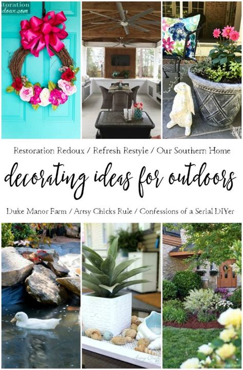 outdoor decorating ideas outdoor decorating ideas artsy rule 174