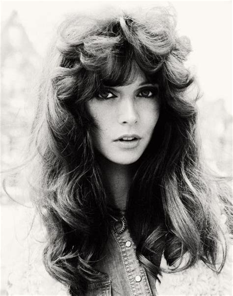 feather hair cuts from the 70 s 70s wow she is beautiful hair and ardorment pinterest