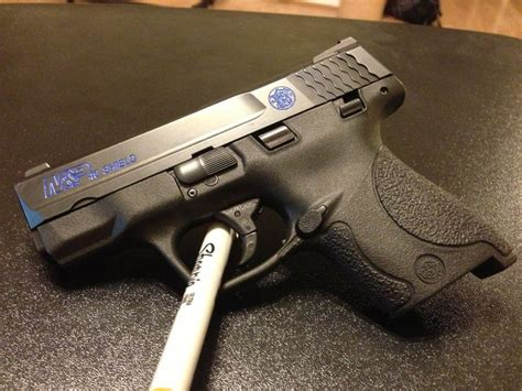 color fill smith and wesson m p shield 40 sw color fill second
