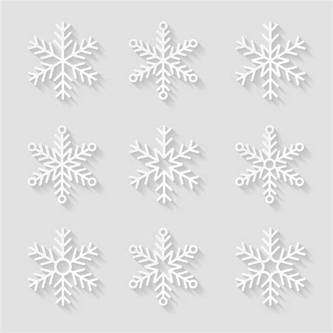 How To Make Fancy Paper Snowflakes - decorative paper snowflakes illustrations on creative market