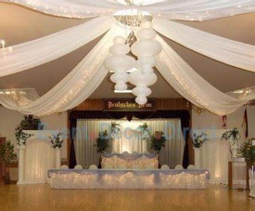 wedding ceiling decor draping kits