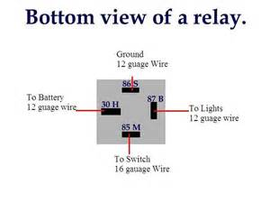 5 blade relay wiring diagram spdt 5 wiring diagram