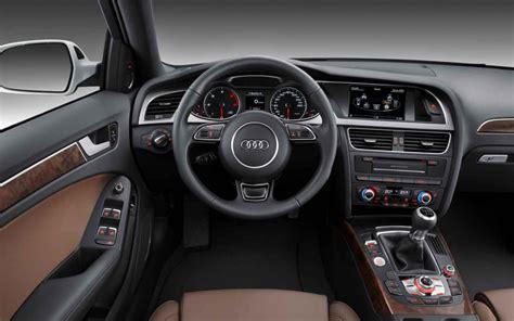 2014 Audi A4 Interior by 2014 Audi A4 Interior Plus Black Top Auto Magazine