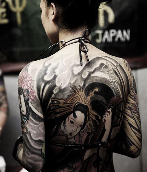 tattoo geisha di kaki cara desain 18 tattoo geisha keren untuk inspirasi