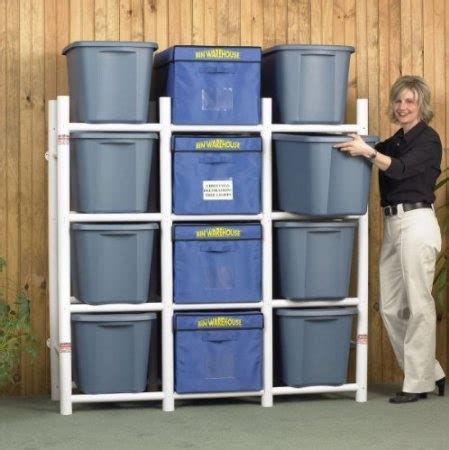 garage organization bins bin storage for garage cleaning household tips