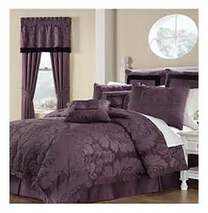 lorenzo 8 pc comforter set by royal heritage home 174 purple