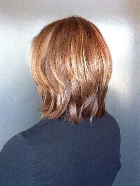 meidum hair cuts back veiw medium layered bob back view short hairstyle 2013