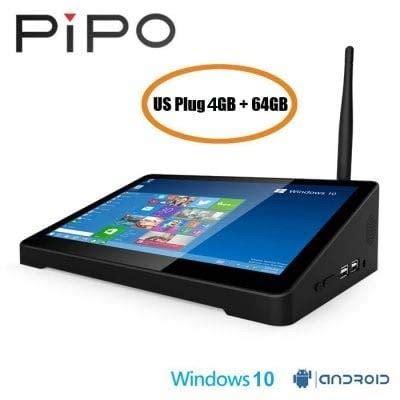 pipo x9s tv box 4gb 64gb 8 9 inch mini pc intel cherry