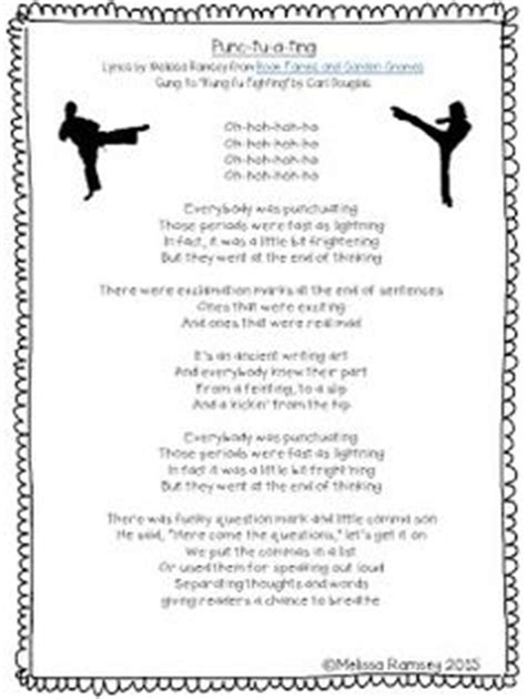 printable lyrics to kung fu fighting the sound collector by roger mcgough i read this poem