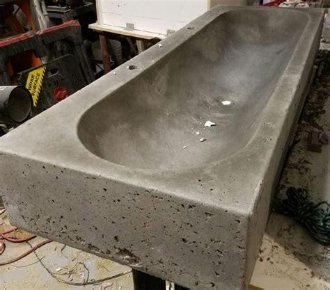 Diy Concrete Trough Sink by Expressions Ltd Concrete Countertop Fiberglass Sink Mold