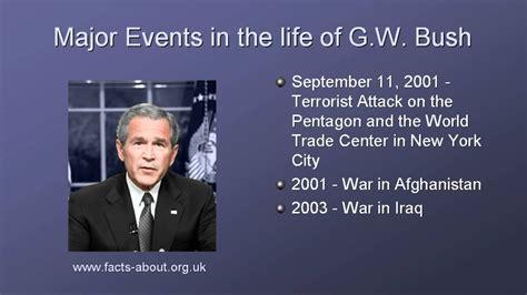 george w bush biography presidency facts britannica com president george w bush biography youtube