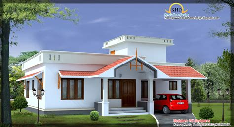 house front elevation designs for single floor 4 beautiful house elevations kerala home design and floor plans