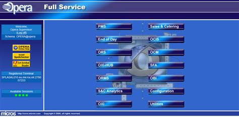 onq pms system for front desk pms fidelio opera pms