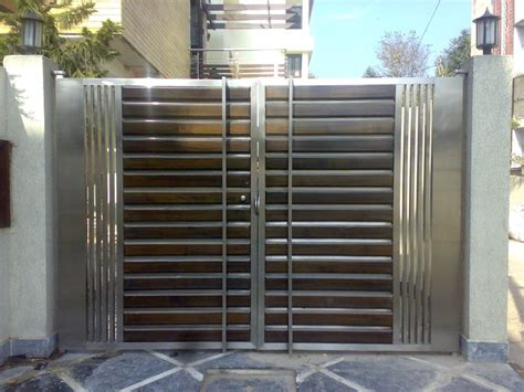 modern house steel gate steel gates search thakur s stainless steel steel gate and gates