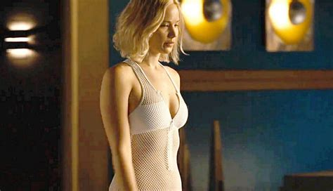 a new film starring jennifer lawrence tells the real life passengers star jennifer lawrence stuns in see through
