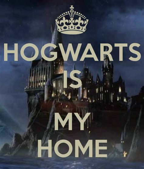 hogwarts is my home poster hoon from the moon keep