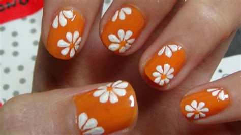 Design Flower For Nail | 6 flower nail art designs best nail designs